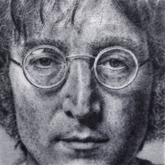 Portrait of John Lenon