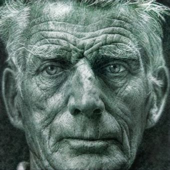 Portrait of Samuel Beckett